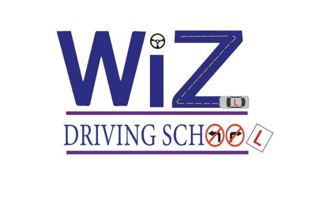Wiz Driving School logo